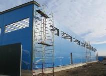 Быстровозводимые склады и ангары. Фото 1